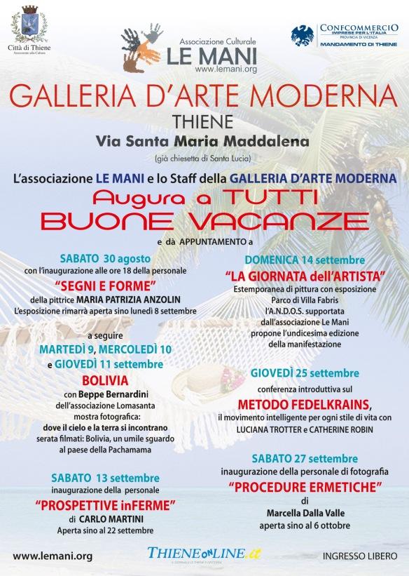 EVENTIdopo Vacanze Associazione Le Mani
