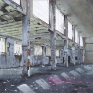 ABANDONED FACTORY - 2014 - cm. 120x120