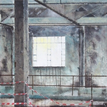 OLD FACTORY OF GLASSES - 2012 - cm. 90x90
