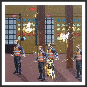 LANEROSSI SCHIO - 2014 - cm. 75x75
